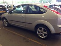 07 Plate Focus 1,8 SPORT. S . 3. Dr. Silver. 69000 Miles only , with Service History. MOT 2017 ,