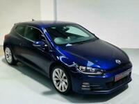 VW VOLKSWAGEN SCIROCCO 2.0 GT TDI 150 *£20 TAX* DIESEL PURPLE 2014 64 MANUAL