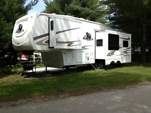 Fifth wheel Silverback 3 extentions