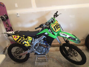 2012 KX450F for sale