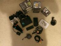 Vintage PlayStation Bundle, PSOne, PS2 & PSP, 35x games, 4x controllers, see description for more
