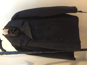 Pea Coat large new $120.00