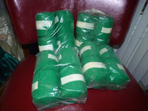 Horse Stable Bandages Green