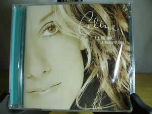 "Celine Dion ""All The Way...A Decade of Song"" CD, NEW Oakville / Halton Region Toronto (GTA) image 1"