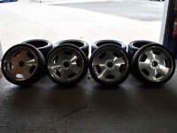 "19"" Staggered Work Euroline Alloy Wheels"
