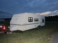 25 foot Rockwood travel trailer