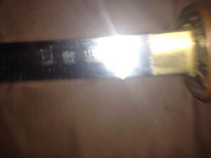 "Authentic Custom ""Dragonfly"" Full-tang Katana Strathcona County Edmonton Area image 7"