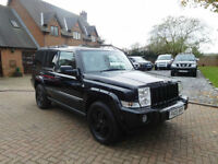 2007 Jeep Commander 3.0CRD V6 auto Predator 7 Seats Px Welcome
