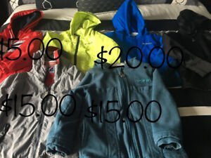 Boys jackets size 4