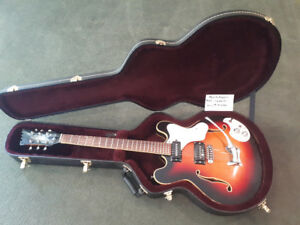 "Mosrite Celebrity II ""acoustic electric"" guitar. Mid 60s."