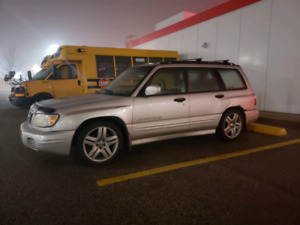 2001 Subaru Forester s AWD Fully Loaded