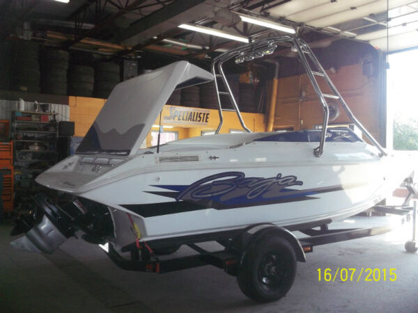 Used 1996 Baja Boats outlaw 21pd 25 ieme anniversaire