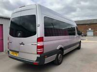 MERCEDES SPRINTER 313 CDI 9-seater Minibus, 62reg for sale