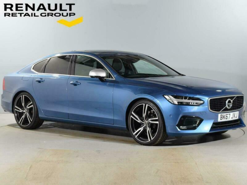 2017 Volvo S90 VOLVO S90 2.0 D4 R DESIGN Pro 4dr Geartronic Saloon Diesel Automa