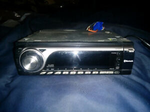 JVC ,,car stereo and pioneer speakers