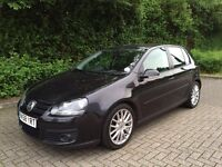 Volkswagen Golf GT TDI 140 bhp, Black 58 Plate, 2 Owners, Full Leather Heated Seats, HPI Clear