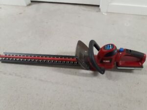 TORO cordless hedge trimmer