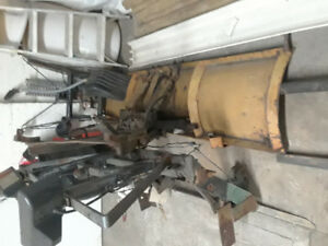 7 1/2 foot snow plow pumps and mounts parts