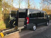 2014 Peugeot Boxer 2.2 HDi H1 110ps WHEELCHAIR ACCESSIBLE VEHICLE 4 door Whee...