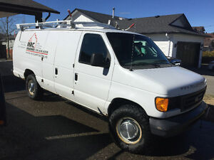 2005 Ford E-350 extended cargo/service van - REDUCED! $4800