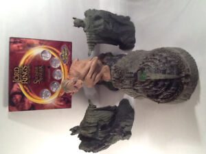 Lord of the Rings 2002,2003,2004 Statues & Coins