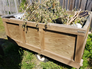 6x5 utility trailer, Great for landscaping to dump runs!