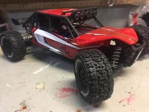 Axial EXO buggy Traxxas Slash motor/esc