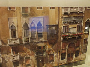 BALCONIES ON THE GRAND CANAL IN VENICE,..40'' x 28.5'' IKEA Kitchener / Waterloo Kitchener Area image 6