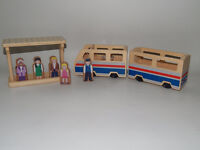 TRAIN EN BOIS MELISSA AND DOUG