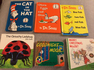 Children's book lot Dr. Seuss, Eric Carle & more