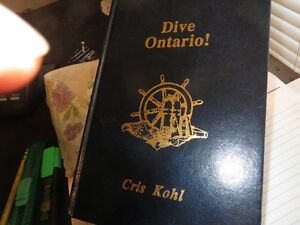 Dive Ontario books 1 & 2 in mint conditioin