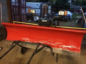 8 FOOT POWER ANGLE HINIKER PLOW FOR  $2400.00