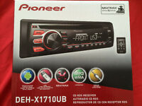 Pioneer ,  USB, AUX,  CD MP3 ,IPOD, IPHONE ...,Garante un ans