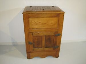 Old Wooden Icebox London Ontario image 1