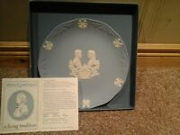 Wedgewood plate collectible with original box and original paper