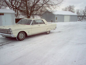 1965ford galaxie 500 4 door hardtop
