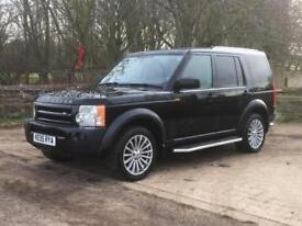 Land Rover Discovery 3 2.7TD V6 2005 SE Automatic Black Black leather Cheap tax