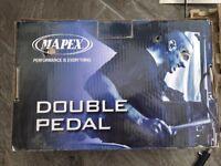 Mapex double base drum pedal