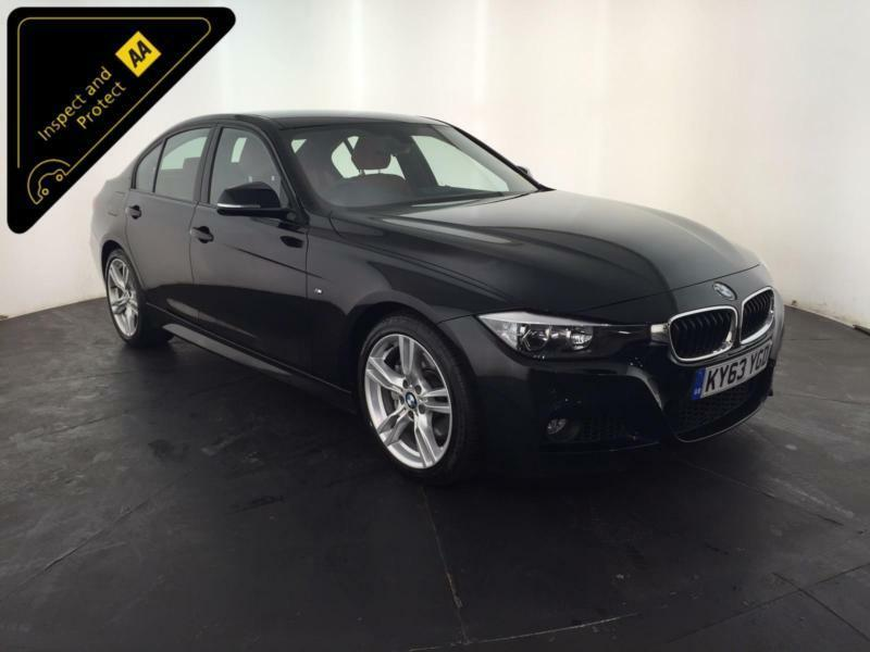 2013 63 BMW 3 ACTIVEHYBRID M SPORT AUTO 1 OWNER SERVICE HISTORY FINANCE PX