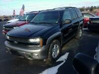 02 chevy trailblazer ltz 4x4