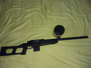 Barely used Airsoft sniper rifle
