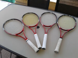 Tennis Racquets - used by a National champion $60 each