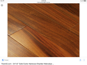Exotic Brazilian Walnut Flooring