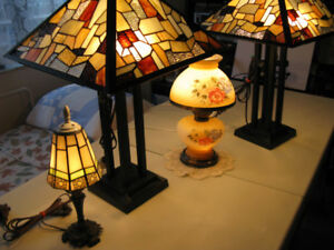 More TIFFANY LAMPS FROM MY COLLECTION...............416-483-1730