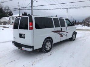 2013 Chev Express Van With Wheelchair Life