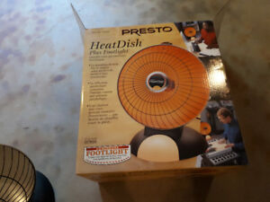 Presto Heat Dish- Usefull  for these chilly nights