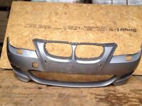 BMW 5 SERIES E60 M SPORT FRONT BUMPER SKIN DOES REQUIRE PAINT WORK