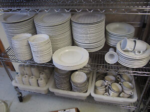 Restaurant Grade plates, cups, mugs, cookware and more!