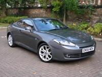 EXCELLENT SPORTS CAR!! 2007 HYUNDAI COUPE 2.0 SIII SE 3dr, GREY WITH RED LEATHER