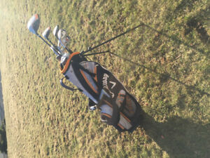 Callaway XJ Hot jr. left golf clubs